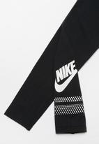 Nike - Nike G NSW favorite futura GX leggings - black