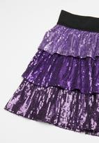 POP CANDY - Girls sequin skirts - purple
