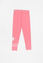Nike - Nike G NSW favorite futura GX leggings - pink