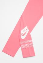 Nike - Nike G NSW favorite futura GX leggings - pink
