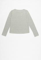 MINOTI - Teens long sleeve top - grey