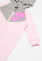 Nike - Nkb nsw chevron coverall - pink