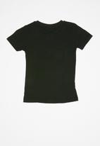 Rebel Republic - Teen boys printed tee - black