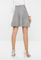 Vero Moda - Multa lurex skirt - grey