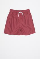 POP CANDY - Boys swimshort - maroon