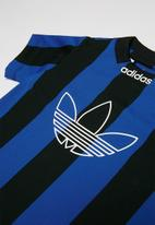 adidas Originals - Sabakov stripe adidas jersey - black & blue