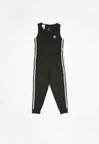adidas Originals - 3 Stripes jumpsuit  - black & white