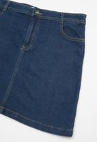 POP CANDY - Girls denim skirt - blue