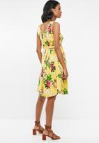 Cherry Melon - Belted tunic dress - multi