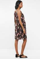 Cherry Melon - Maternity Halterneck dress - multi