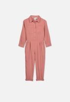 Cotton On - Gizelle boiler suit - pink