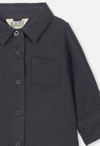 Cotton On - Long sleeve shirt - charcoal