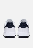Nike - Air Force 1 '07 -  white/obsidian-white-ocean cube