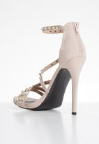 MHNY by Madison - Pearl stiletto heel - neutral