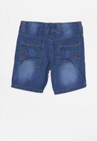 POP CANDY - Boys denim shorts - blue