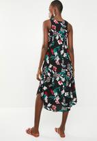 Revenge - Sleeveless floral tank dress - multi