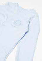 POP CANDY - Baby boys sleepsuit - blue