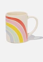 Typo - Novelty shaped mug - multi