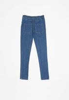 POP CANDY - Girls denim skinny jeggings - blue
