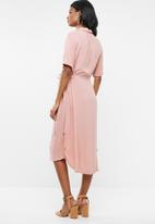 Cherry Melon - Long shirt dress - pink