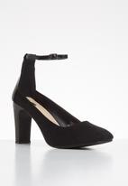 Footwork - Jayden heel - black