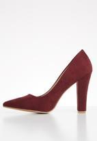 Footwork - Court heel - burgundy