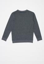 POLO - Boys blake long sleeve sweater - charcoal