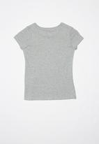 GUESS - Teens short sleeve faded heart guess tee - grey