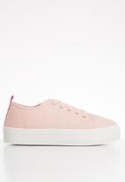 ONLY - Sarina contrast sneaker - peach