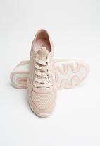 Vero Moda - Flatform sneaker - pink