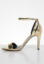 ONLY - Aila heeled sandal - gold