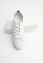 ONLY - Sarina contrast sneaker - white