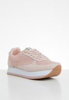 ONLY - Smilla elevated mesh sneaker - pink