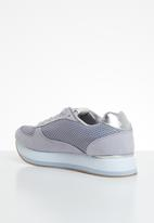 ONLY - Smilla elevated mesh sneaker - purple