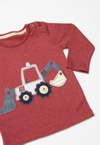 POP CANDY - Baby boys long sleeve T-shirt - red