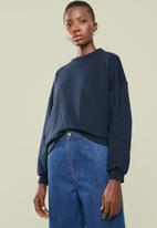 Superbalist - Crew neck sweat - navy