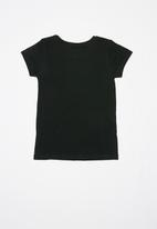 POP CANDY - Girls printed graphic top - black