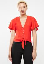 Sissy Boy - Sound of music blouse - red