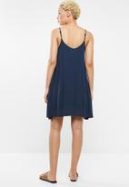 Roxy - Full bloom dress - navy