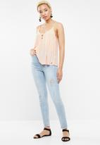 Roxy - Shifty sky top mid - peach