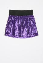 POP CANDY - Girls sequin skirt - purple