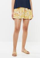 Roxy - Love shorts - yellow