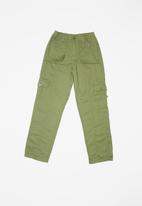 POP CANDY - Boys cargo pants - green
