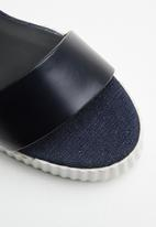 G-Star RAW - Rackam core denim sandal - navy
