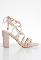 Superbalist - Vera block heel - pink