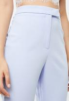 Missguided - Flared trousers - blue