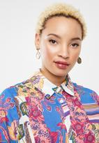 Missguided - Floral shirt - multi