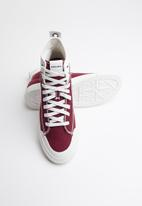 Diesel  - S-astico mid lace  - star white & cabarnet