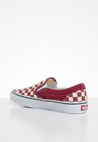 Vans - Vans classic slip-on - rumba red & true white
