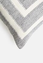 Sixth Floor - Tess woven cushion cover - grey